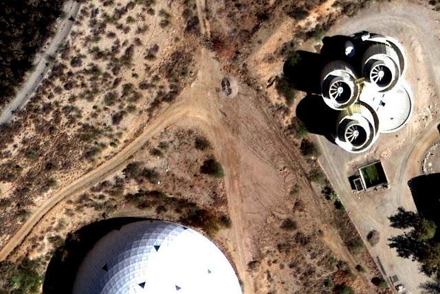 Detail: Biosphere 2, Oracle, Arizona, USA