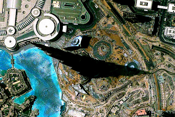 Detail: Burj Dubai, UAE