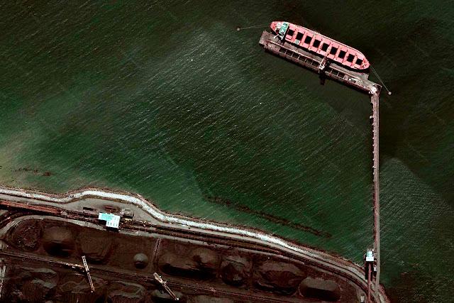 Detail: Delta Coal Port, Vancouver, Canada