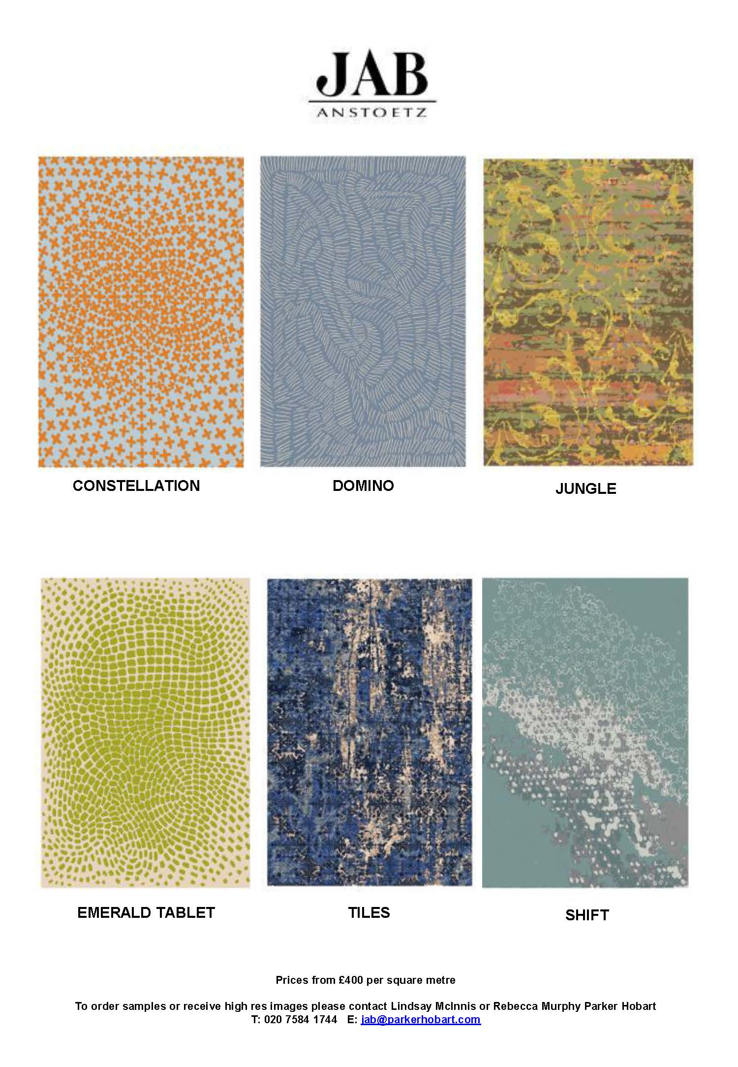 JAB Anstoetz launch NEW Characters rug collection_Page_2