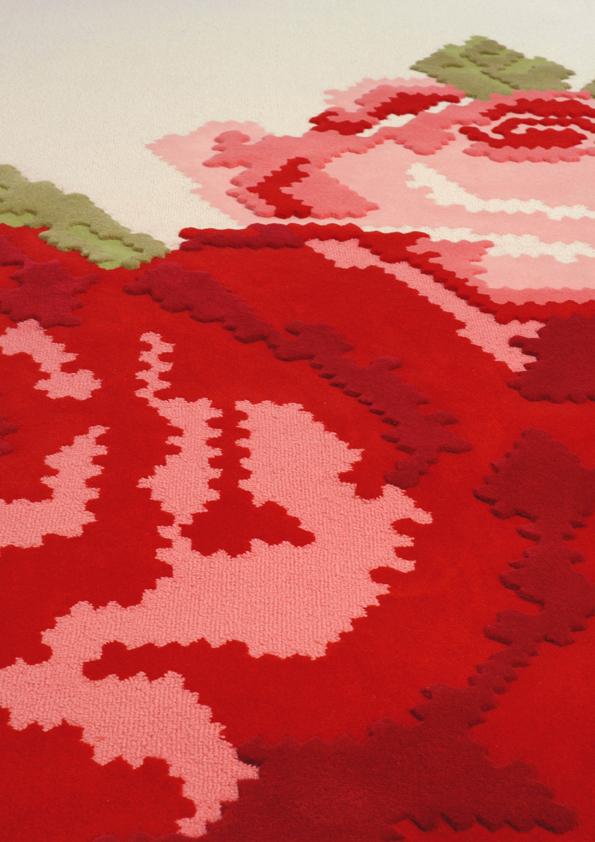 Kiki Carpet (detail) by Kiki van Eijk