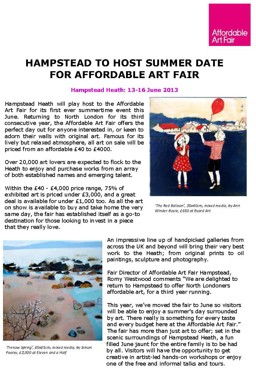 The Affordable Art Fair - Two Weeks To Go Release_Page_1_Page_1