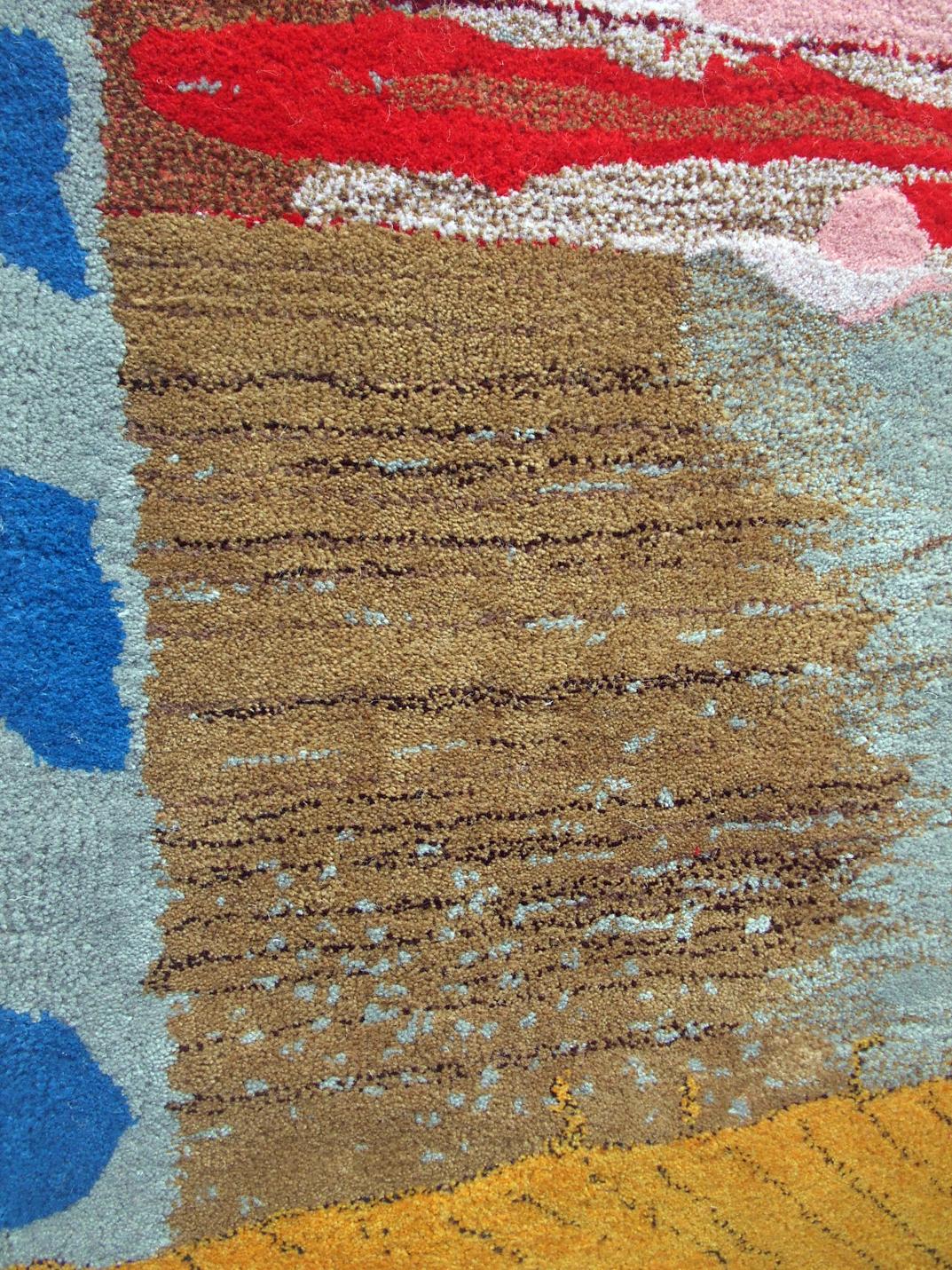 Daniel Beckford (detail) My Life rug