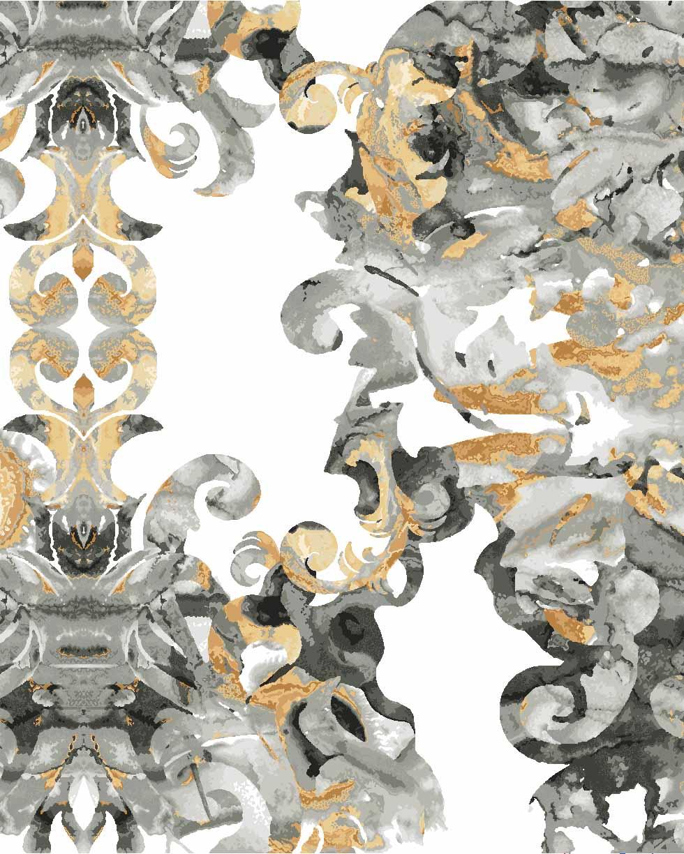 Dream Gold & Silver, designed by CMI designer Anna Cunningham great gatsby