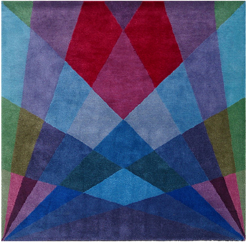 Dusk rug by  Studio Sonya Winner