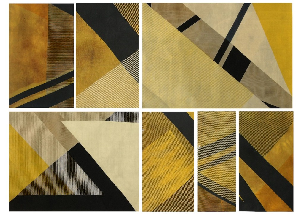 Geometric Collection 3rd Year Fabric Samples