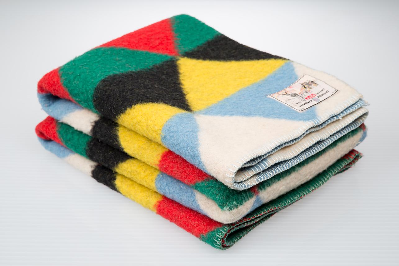 AaBe vintage Dutch wool blankets