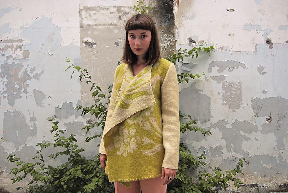 Wintervacht wool blanket coat