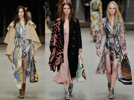 Burberry Prorsum A/W 2014 Collection at A/W LFW 2014  London Fashion week