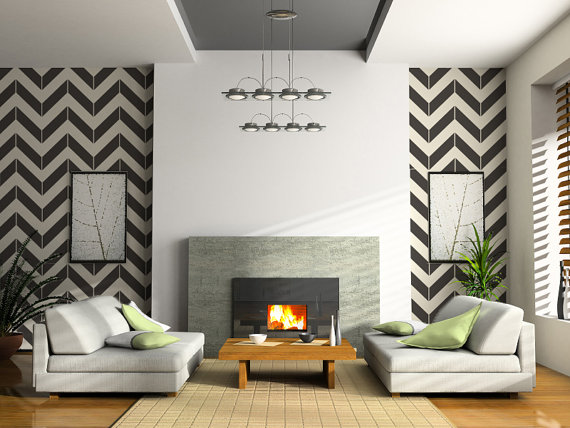 chevron-wall-decals