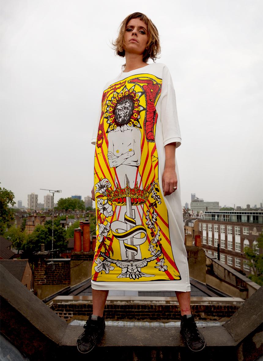 Anna Chilton Gorilla Dress 2014