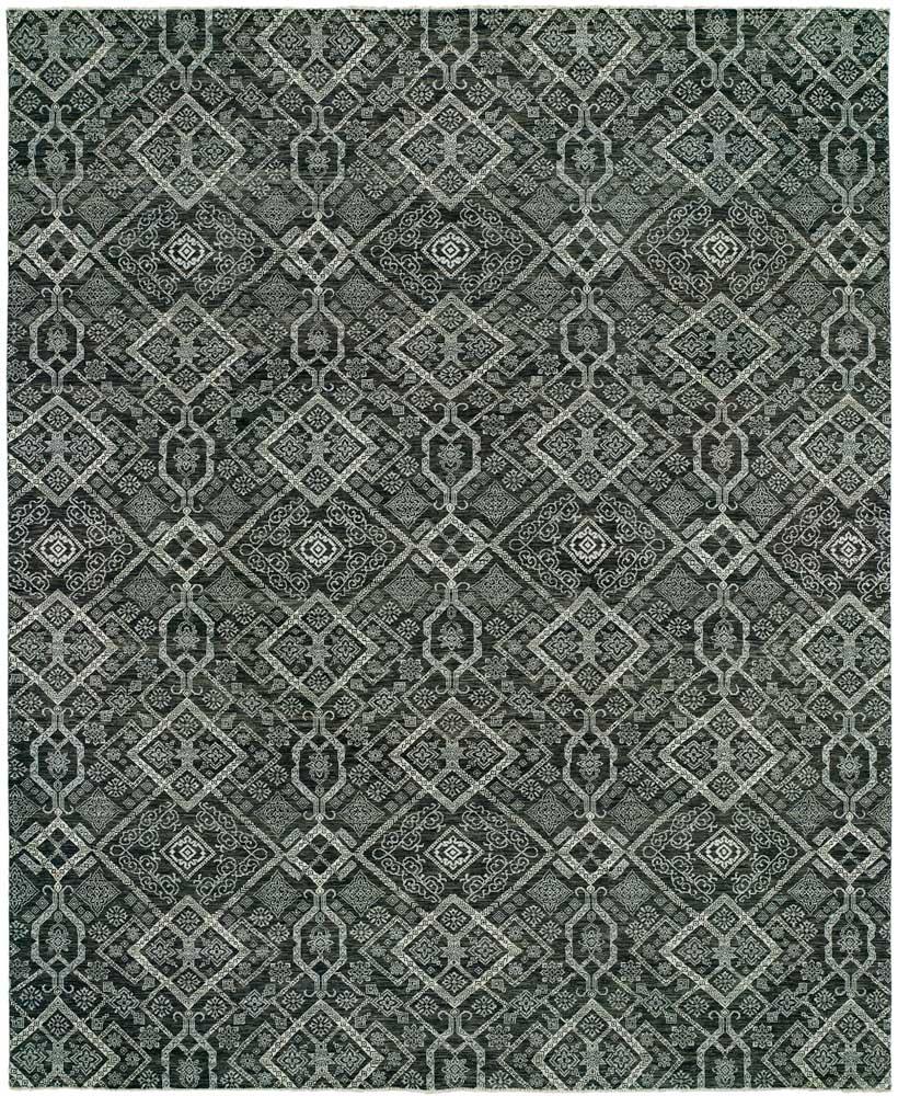 Vogue 28 Charcoal -Grey HRI rug show