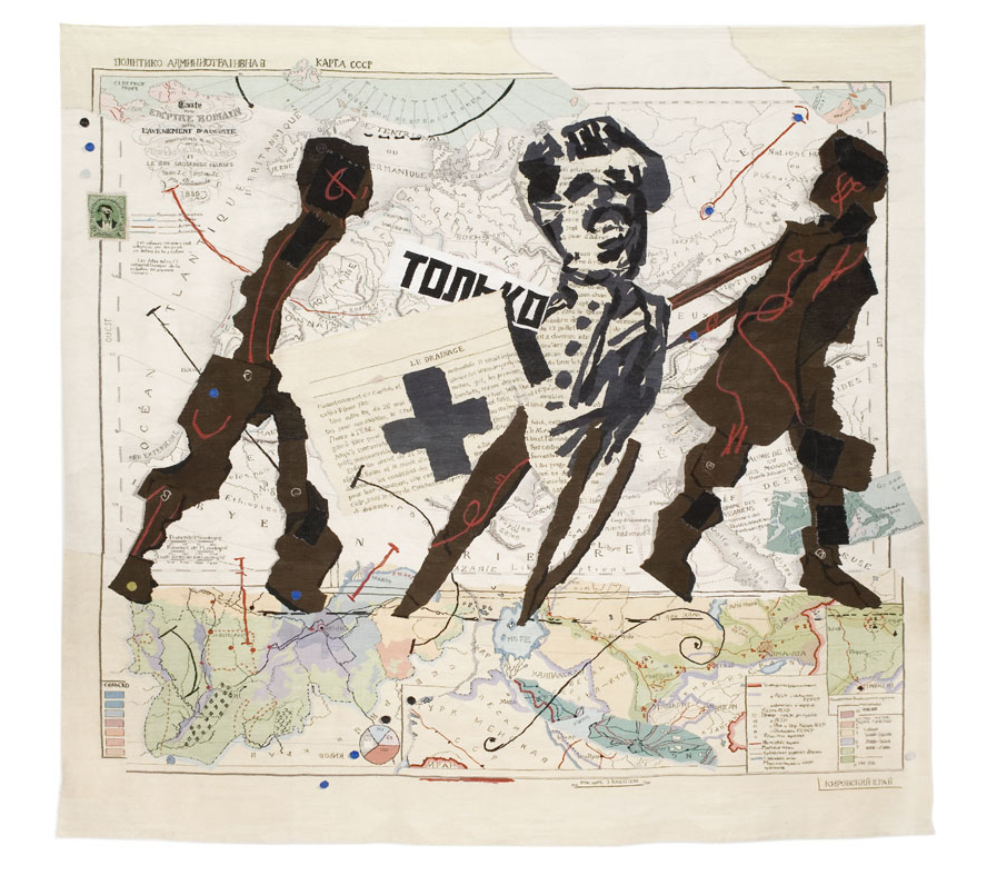 Augustine's Empire, 2008, tapestry, 413 x 442cm, edition of 6