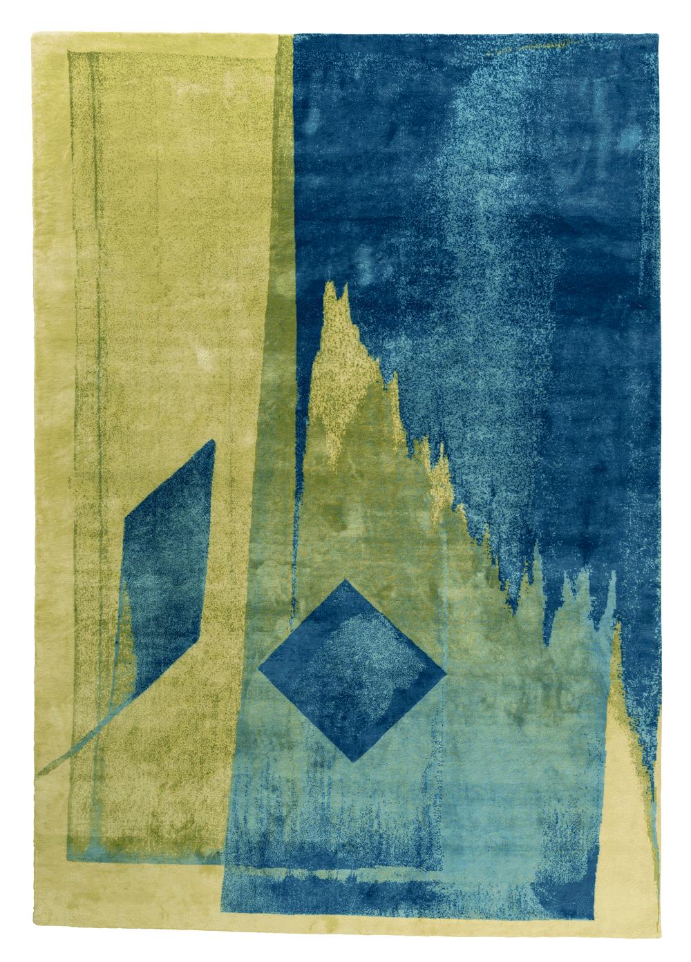 Top Floor Calligraphy Script Carpet Collection by Esti Barnes
