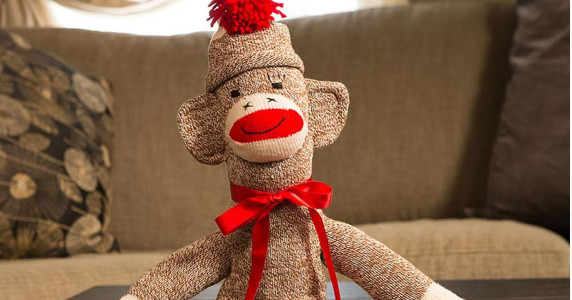 Sock Monkey at Lehman's