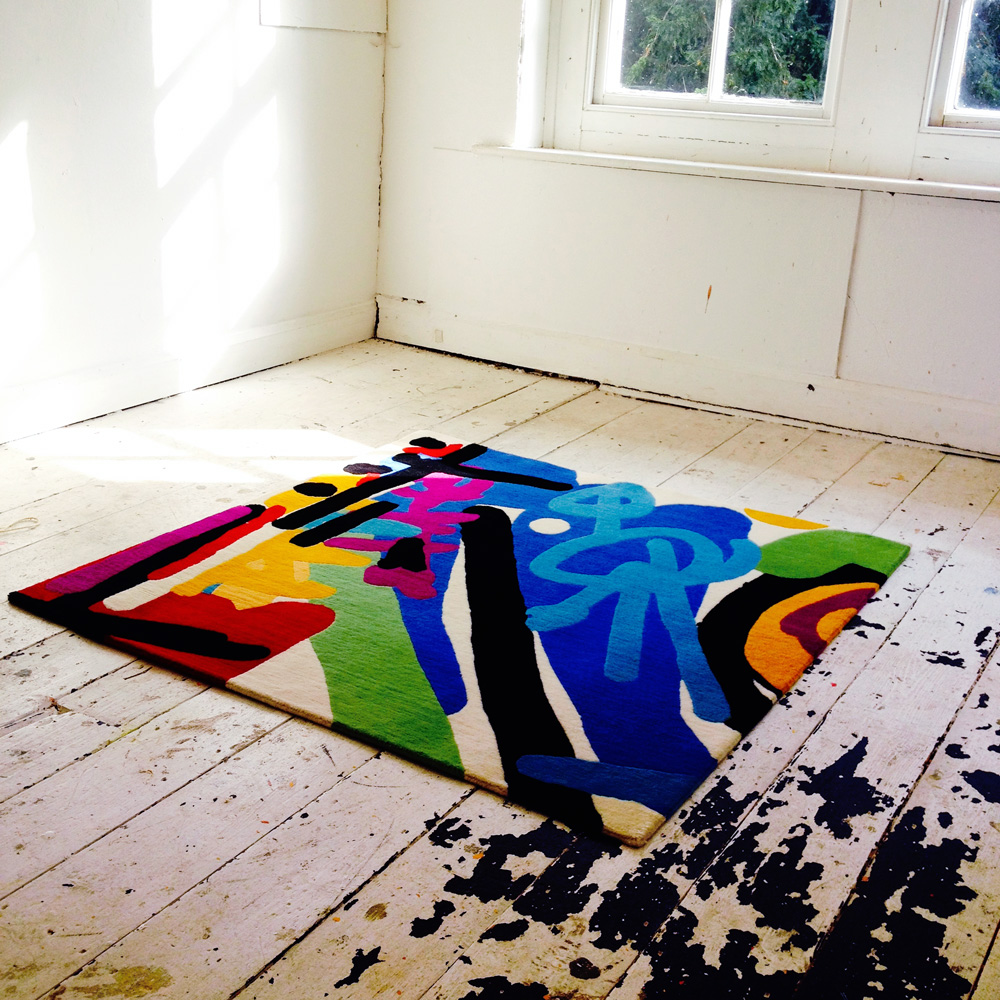 Allistair Covell, iPhone rug for Rugmaker