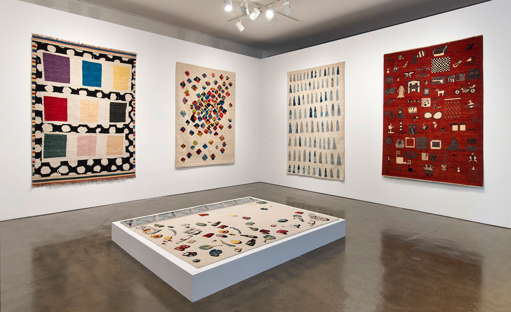 The Afghan Carpet Project at the Hammer Museum, LA