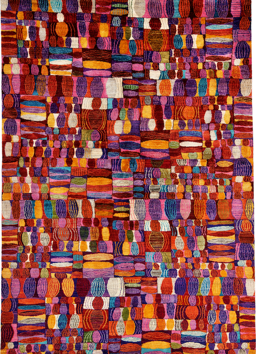 The Rug Show La Cover Magazine Carpets Amp Textiles For