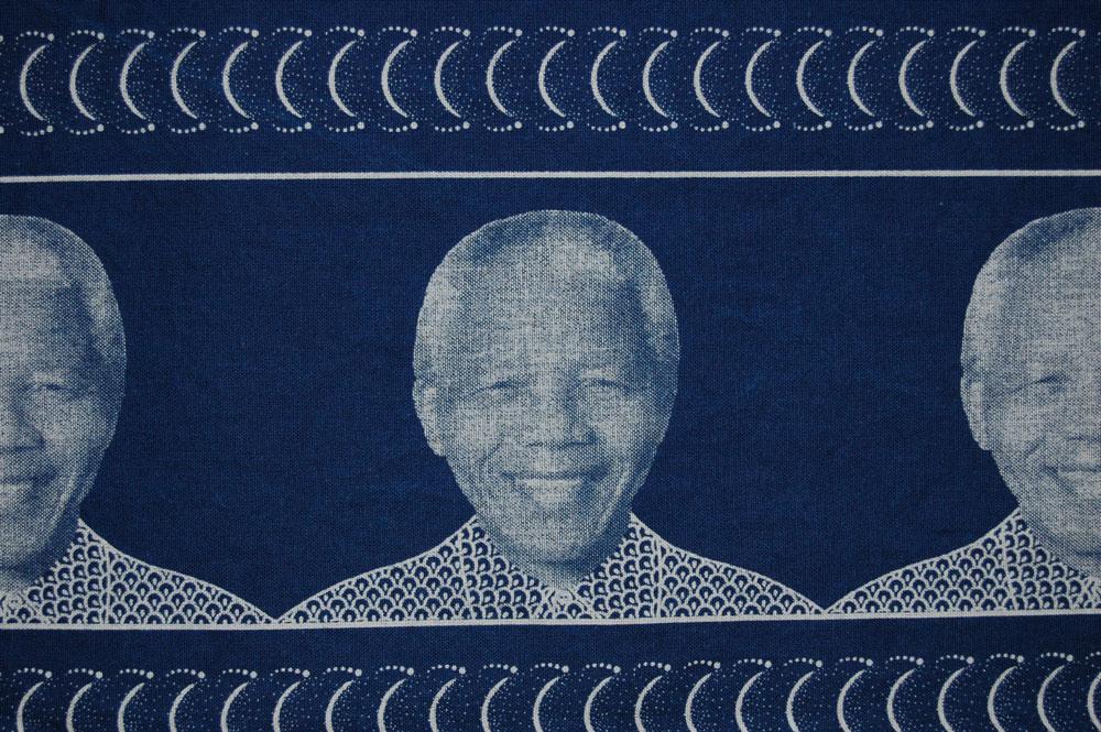 Nelson Mandela (detail), South Africa, 2008. William Morris Gallery