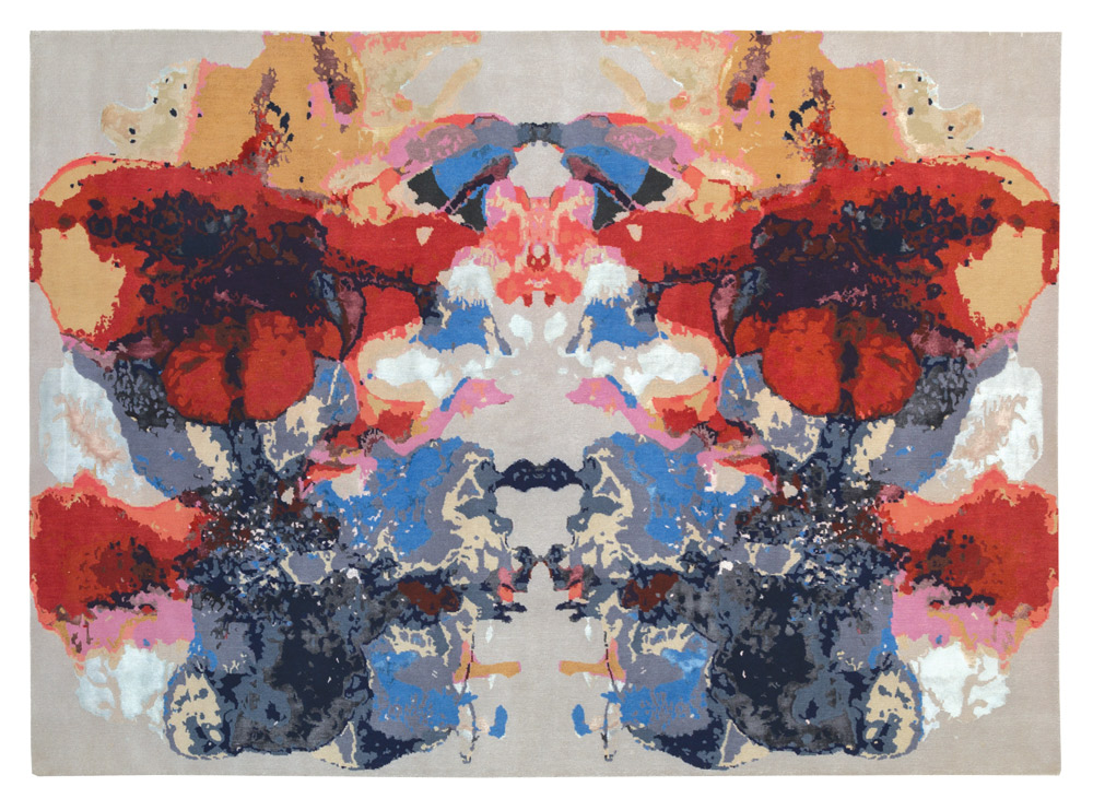 Rug by Amy Kent, Talsiman London, LDF 2016