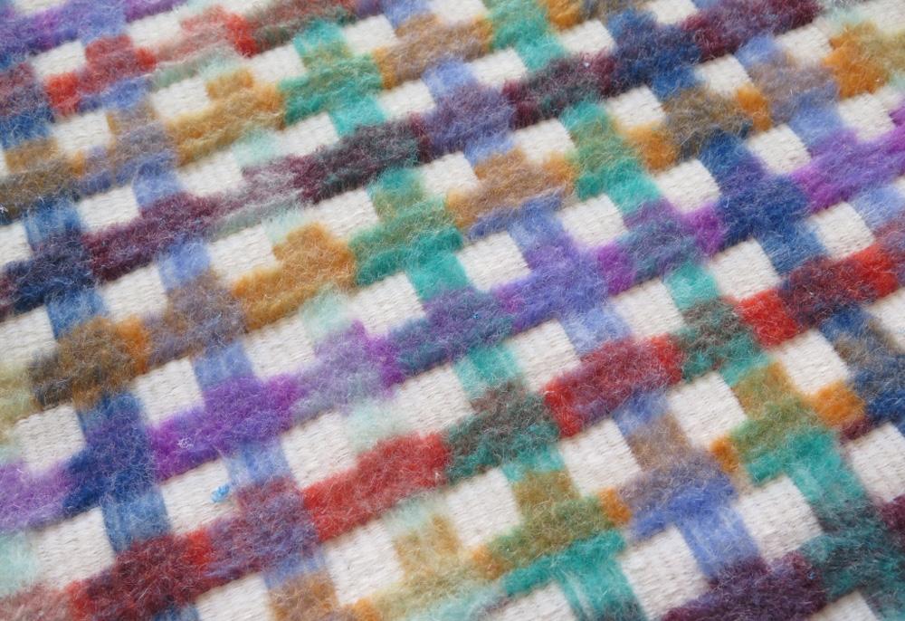 Motley rug by Adam Guy Blencowe and Marine Duroselle