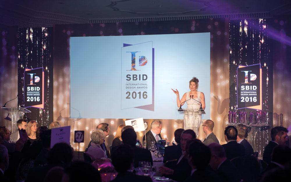 Dr Vanessa Brady OBE at SBID International Design Awards 2016