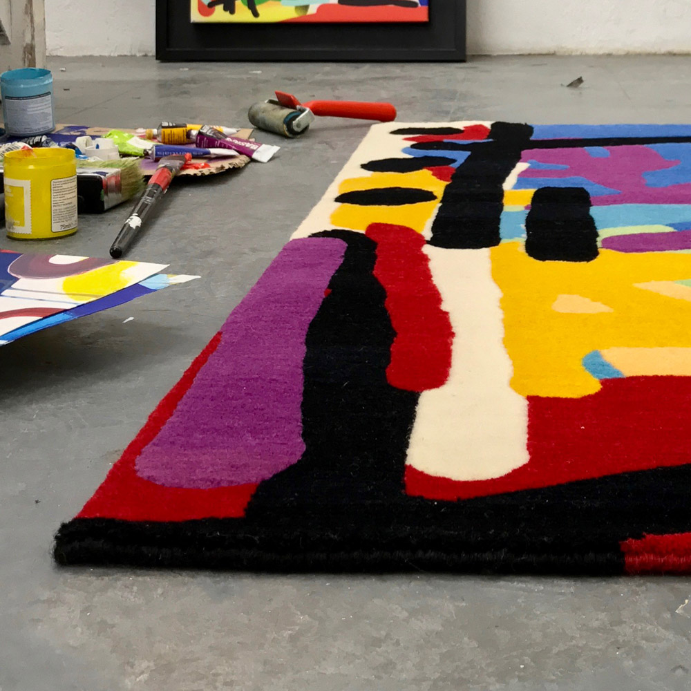 Rhythm rug 5, Allistair Covell