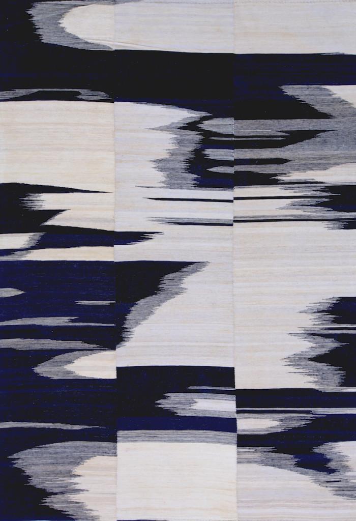 Fluidity, Baneh Kelim, Flatweaves Minimalist, 208 x 305cm copy