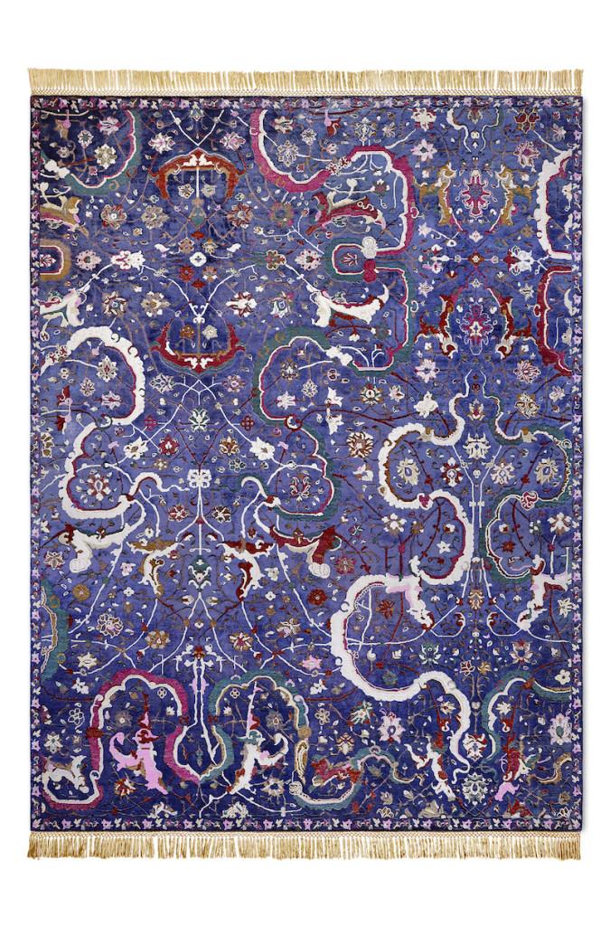 NewClassic Reverse Tabriz MidNightBlue 274x365 Persian BS copy