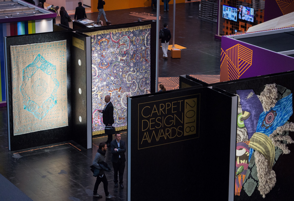 DOMOTEX 2018 - Weltleitmesse f¸r Teppiche und Bodenbel‰ge (12. - 15. Januar) Carpet Design Awards 2018: Internationaler Wettbewerb f¸r herausragendes Teppichdesign.
