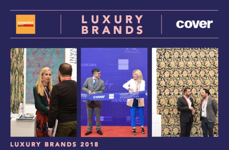 Luxury Brands 2018 Cover Magazine Carpets Amp Textiles