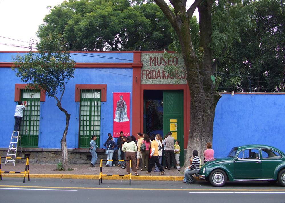 Casa Azul (Museo Frida Kahlo) in Mexico City
