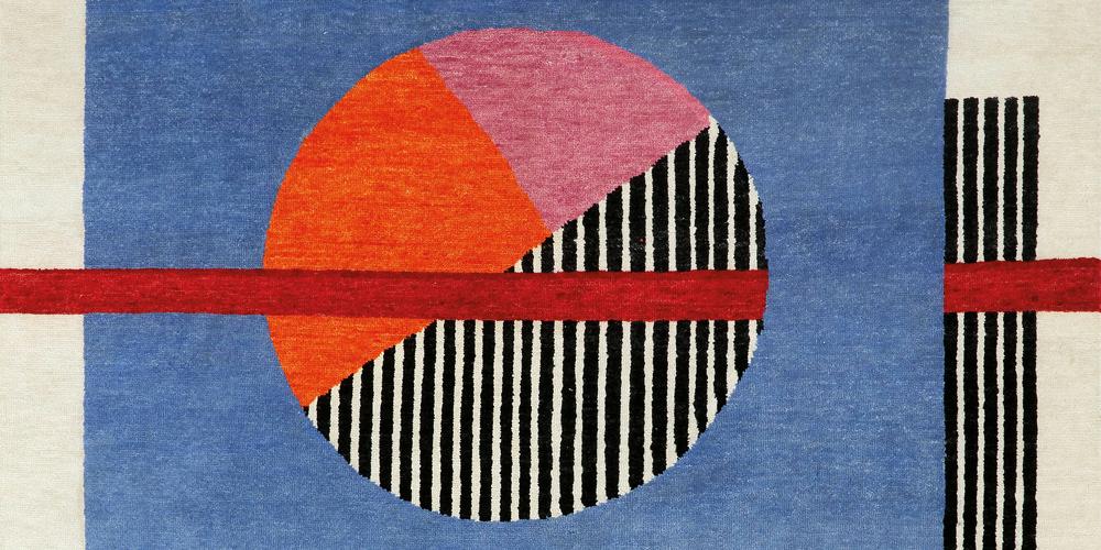 Gravitation rug (detail), Irene Infantes for Christopher Farr