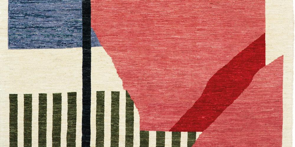 Levitation rug (detail), Irene Infantes for Christopher Farr