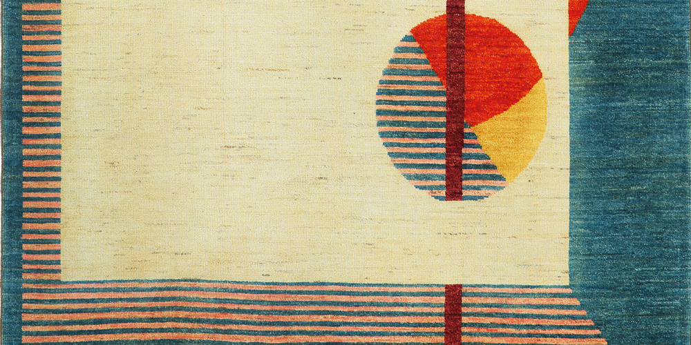 Magnetism rug (detail), Irene Infantes for Christopher Farr