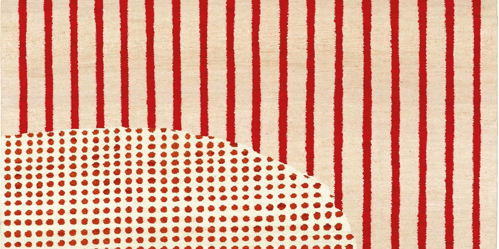 Sevilla rug (detail), Irene Infantes for Christopher Farr