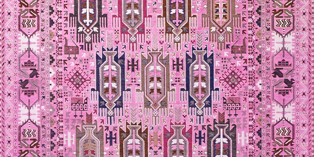 Balouch LightPink (detail) - Rug Star