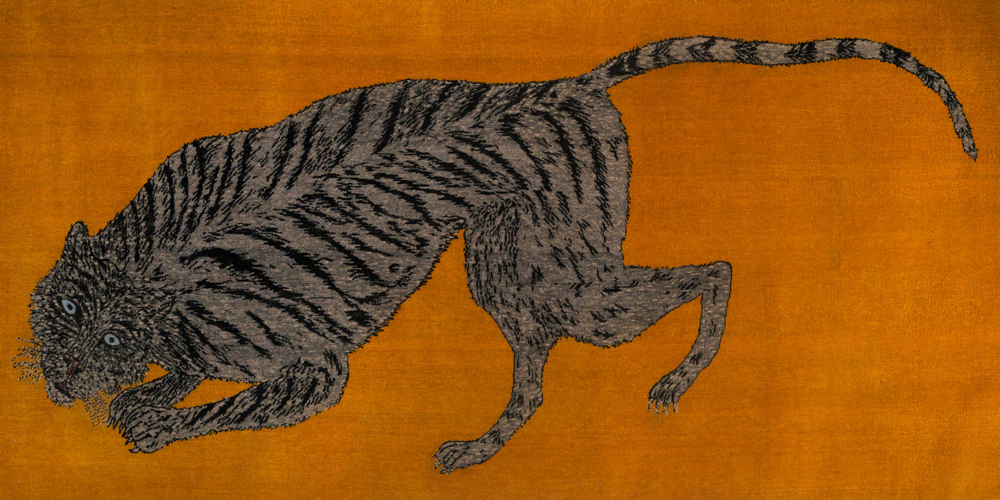 Rug designed by Kiki Smith, hand-knotted in hand-spun wool by Christopher Farr for Tomorrow's Tigers