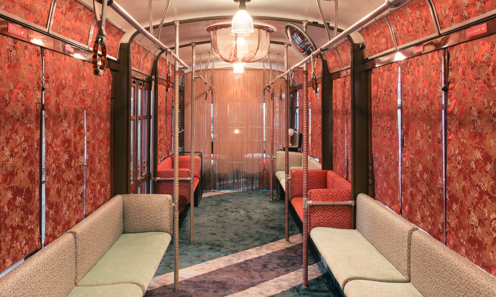 Tram Corallo interior project by Cristina Celestino. Photo: Mattia Balsamini