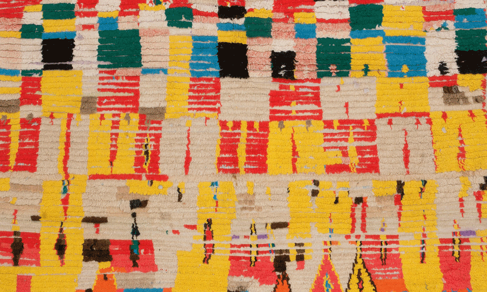 Boujad rug (detail), Morocco, Gebhart Blazek, Graz
