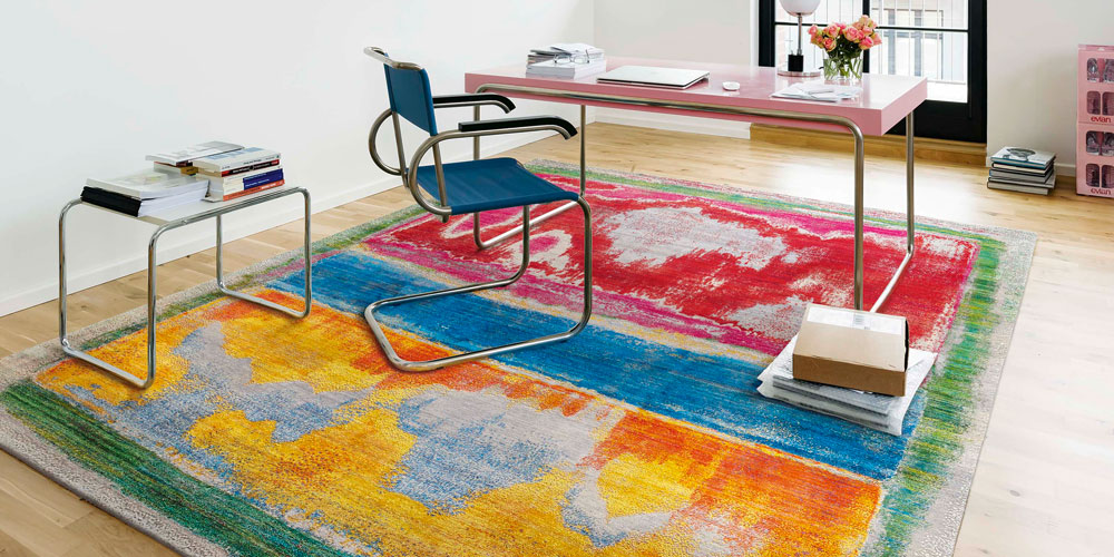 Intimacy Berlin, Home 02. Interior featuring rug by Rug Star