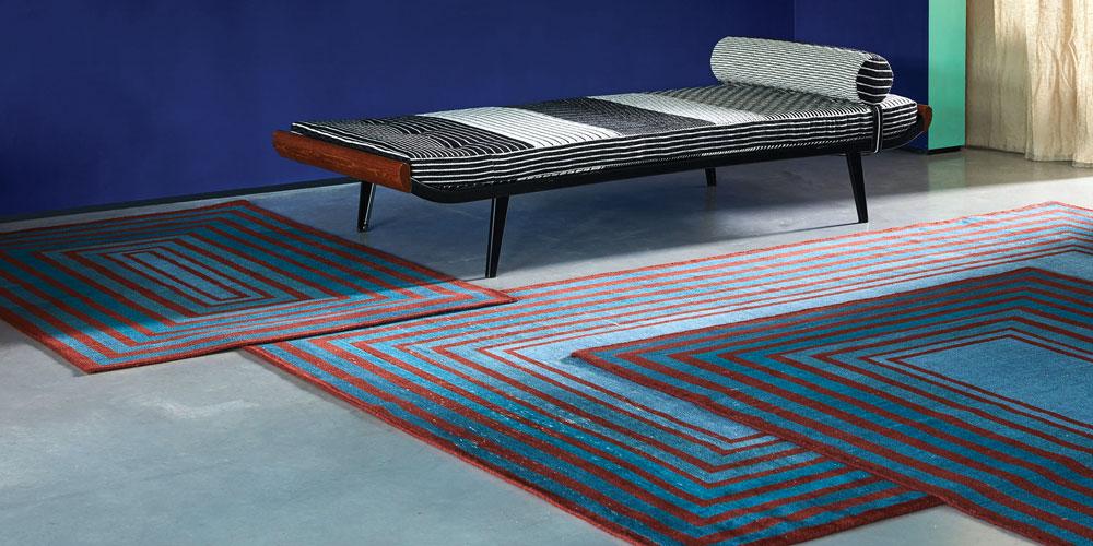 Wrong Angle rug, Sebastian Wrong x Floor_Story