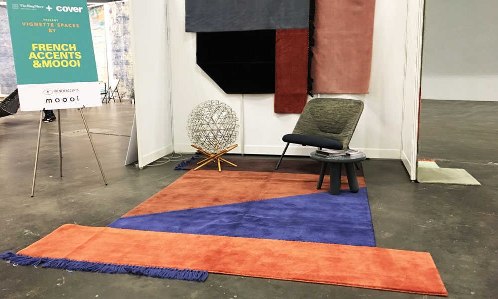 Vignette Spaces by French Accents & Moooi, The Rug Show New York, Javits Center, 7-10 September 2019