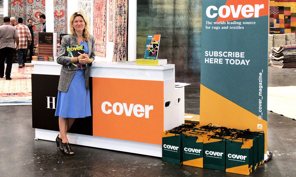 COVER Stand, The Rug Show New York, Javits Center, 7-10 September 2019