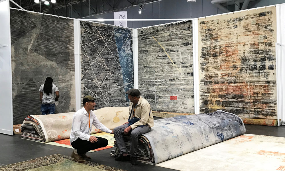 Wool & Silk Rugs, The Rug Show New York, Javits Center, 7-10 September 2019