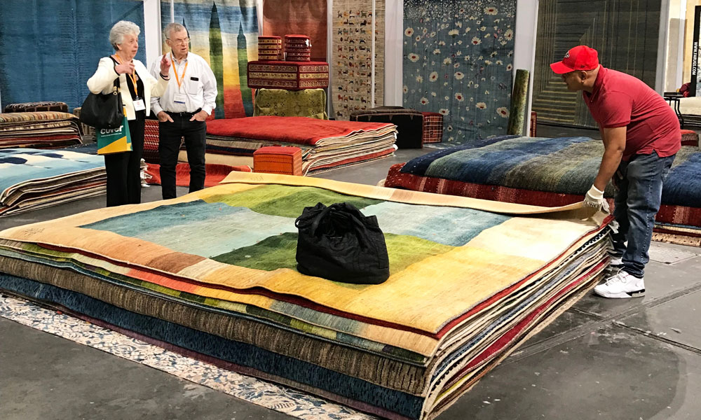 Zollanvari, The Rug Show New York, Javits Center, 7-10 September 2019