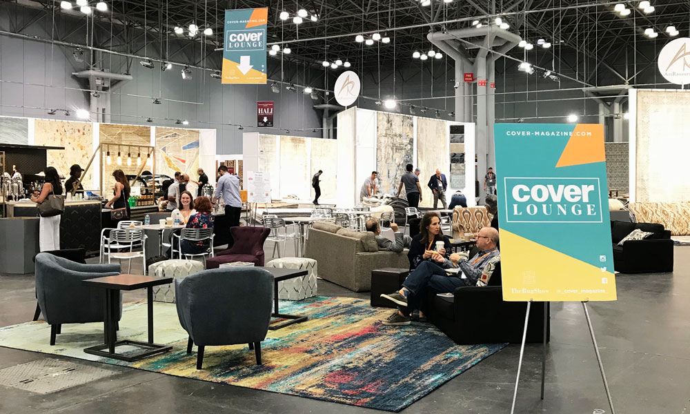 COVER Lounge, The Rug Show New York, Javits Center, 7-10 September 2019