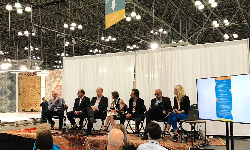 'Who Made It? The Real Makers of Design', The Rug Show New York, Javits Center, 7-10 September 2019