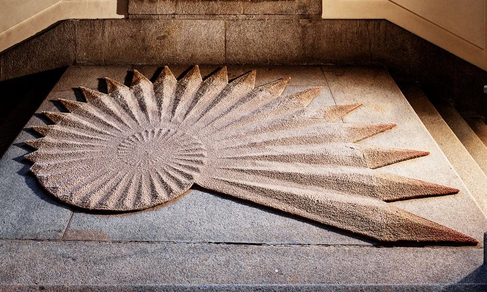 Espiral rug, Ferreira de Sá
