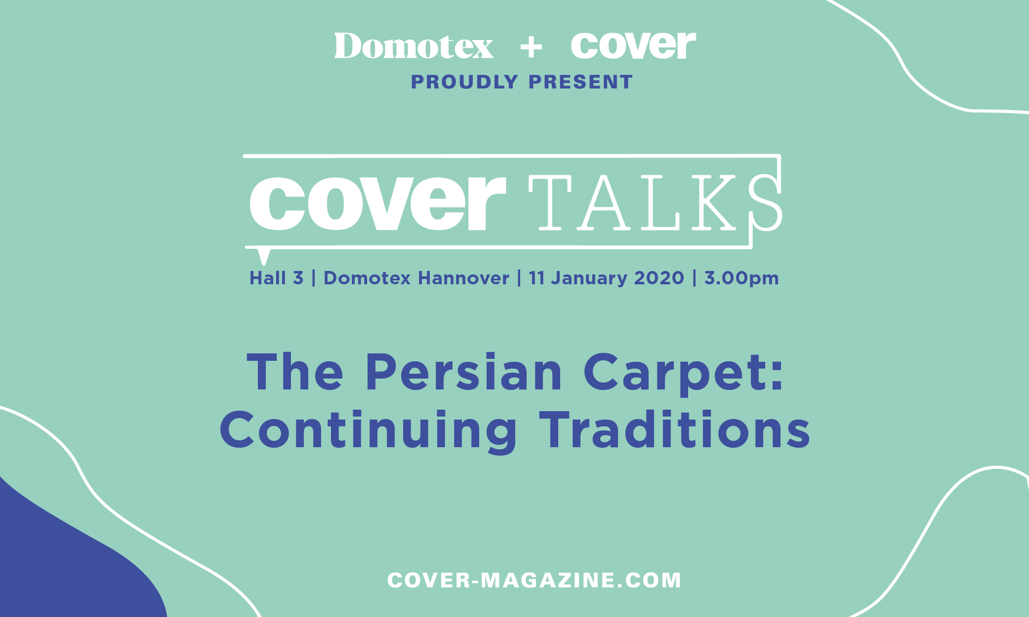 The Persian Carpet: Continuing Traditions, Saturday 11 January, 3.00pm